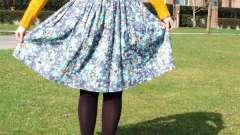 Как сделать из платья юбку: инструкция