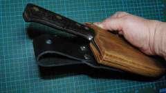 Как сделать ножны своими руками?
