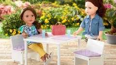 Как сделать стол для кукол своими руками? Интересные идеи с описанием