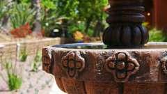 Как сделать своими руками фонтан из камней