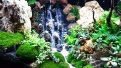 Как сделать водопад в аквариуме своими руками