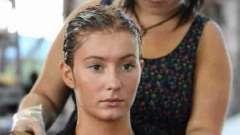 Как смыть краску для волос с волос или что такое химические и природные смывки?