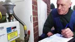Как снимать показания счетчика газа