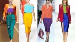 Как сочетать цвета в одежде - традиции и креатив.