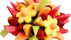 Как составить букет из фруктов своими руками?