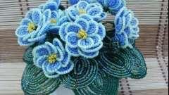 Как создать цветы из бисера: мастер-класс для начинающих