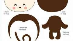 Как сшить обезьянку из ткани: выкройка, мастер-класс, фото, схема