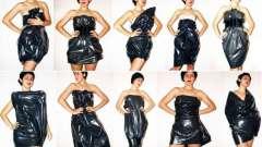 Как сшить платье из пакетов