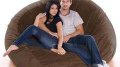 Как сшить удобные и мягкие кресла-мешки своими руками