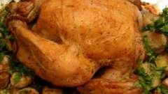 Как в духовке запечь картошку с курицей: пошаговый рецепт приготовления
