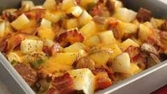 Как вкусно запечь картофель в духовке с курицей