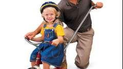 Как выбрать детский велосипед трехколесный с ручкой