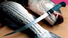 Как выбрать филейный нож для рыбы. Качественный нож для разделки рыбы