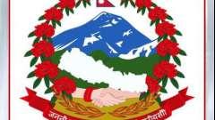 Как выглядит герб непала сегодня и каким он был ранее
