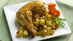 Как запечь курицу с картошкой? Рецепты опытной хозяйки