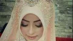 Как завязать платок на никах. Несколько способов завязывания мусульманского платка на свадьбу