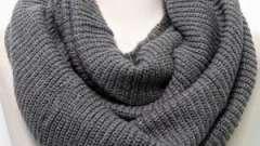 Как завязать шарф-хомут красиво?