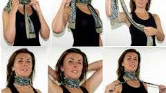 Как завязать шарф на шее, чтобы было красиво?