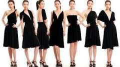 Как завязывать платье-трансформер? Платье-трансформер: варианты завязывания и фото