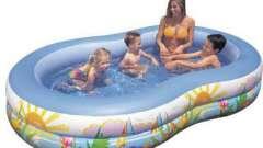 Каким может быть бассейн детский для дачи?