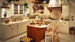 Кантри-кухня – простота и естественность