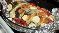 Карп в духовке в фольге - вкусное и полезное блюдо