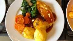 Картошка в казане с курицей - ароматное блюдо