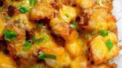 Картошка, запеченная в духовке с сыром - идеальное блюдо для праздничного стола