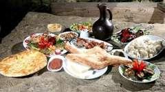 Кавказская кухня - особенности и традиции
