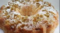 Кекс яблочный - простой и вкусный фруктовый десерт