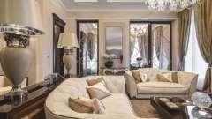 Классическая мебель для гостиной: фото и оригинальные идеи