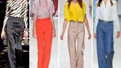 Классические брюки с завышенной талией: с чем носить, сочетание в одежде, рекомендации