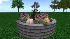 Клумба из кирпича: своими руками обустраиваем цветник