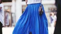 Кобальтовый цвет в одежде и интерьере