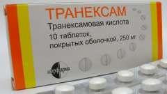 Когда используют «транексам» при месячных? Состав и свойства препарата