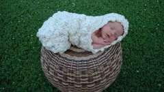 Коконы для новорожденных - незаменимая вещь