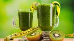 Коктейль для похудения в блендере. Рецепты зеленых коктейлей