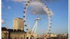Колесо обозрения в лондоне как символ нового тысячелетия и достопримечательность тысячелетнего города