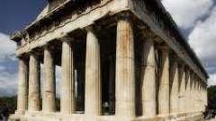 Колыбель европейского античного искусства - религия древней греции