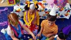 Конкурсы для детей на дне рождения – и весело, и безопасно