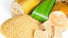 Коричневый тростниковый сахар: вред и польза, калорийность и применение