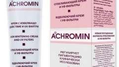 """Косметический крем """"ахромин"""": инструкция по использованию"""