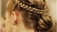 Косы на волосы средней длины: несколько вариантов