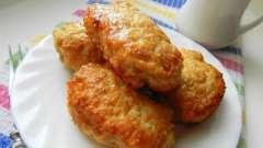 Котлеты в духовке из куриного фарша: рецепт