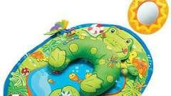 Коврик для ребенка: займите его полезной игрой