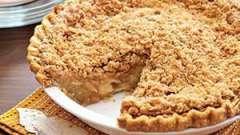 Крамбл. Рецепт приготовления десерта с яблоками и вишней