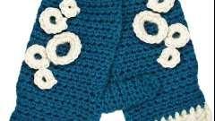 Красивое и простое вязание варежек крючком