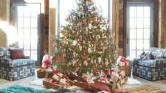 Красивое новогоднее оформление зала своими руками
