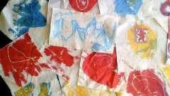 Краска для ткани. В домашних условиях обновите ваши вещи