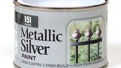 Краска серебрянка: ее качества и область применения